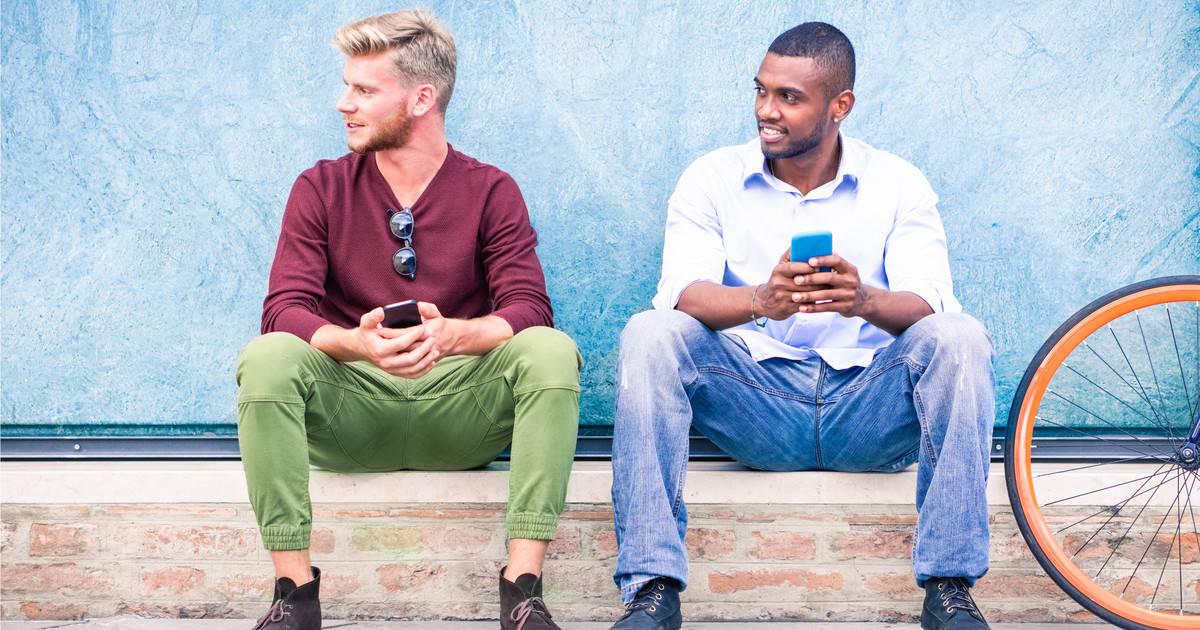 interracial gay men dating